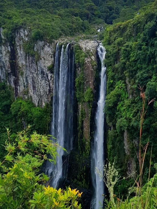 cascata das andorinhas cambara do sul soul do mundo