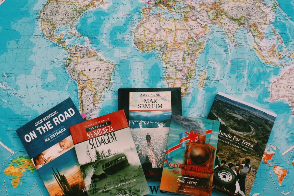 5 livros inspiradores para quem ama viajar