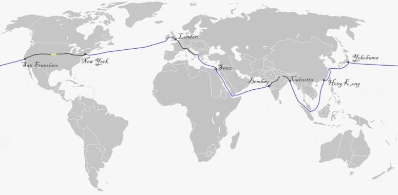 livros para viajantes volta ao mundo em 80 dias soul do mundo